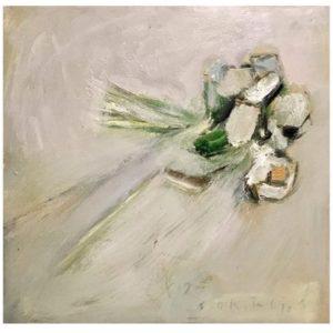 Жест с букетом сухих цветов 01